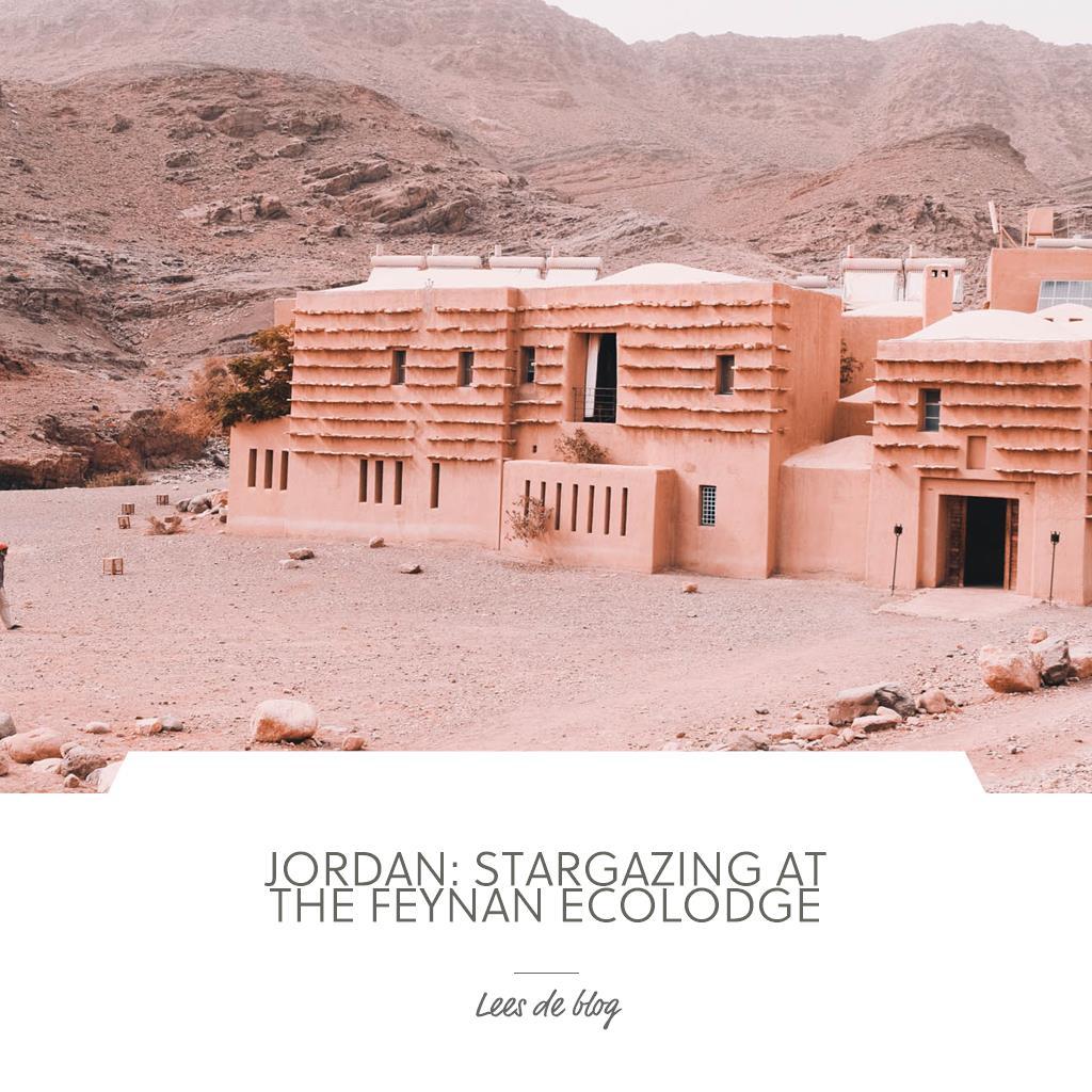 Jordanië: Sterrenkijken bij de Feynan Ecolodge