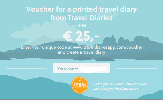 Give a Travel Diary as a present!